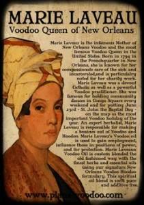 Marie Laveau, Královna vúdú